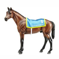 American Pharoah Toy Horse Model