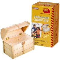 Kids Woodworking Building Set - Treasure Chest