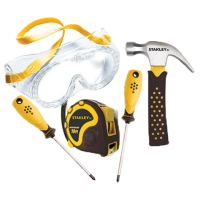 Stanley Jr. 5 pc Real Tools Kids Toolset