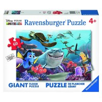 Smile! Disney Pixar Finding Nemo 60 pc Giant Floor Puzzle