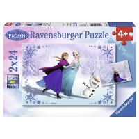 Sisters Always 24 pc Disney Frozen 2 Puzzles Set