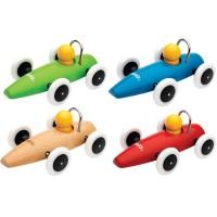 Brio Classic Wooden Car for Toddlers