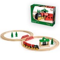 Brio Classic Figure 8 Set 22 pc Wooden Train Set