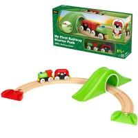 Brio My First Railway Starter Pack 9 pc Toddler Train Set