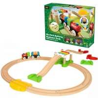 Brio My First Railway Beginner Pack 18 pc Toddler Train Set