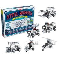 Steel Works Mechanical Multi Model 300 pc Construction Set