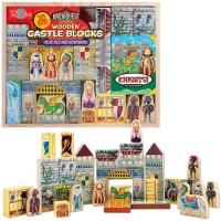 Castle Wooden Blocks Play Set & Storybook