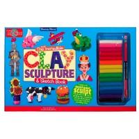Clay Sculpture Craft Kit & Sketch Book