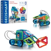 GeoSmart RC Mars Explorer Vehicle Magnetic Building Set