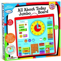 All About Today Jumbo Board Calendar