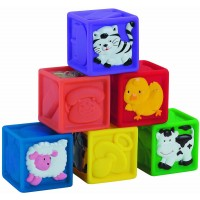 Squeeze a Lot 6 Baby Blocks Set