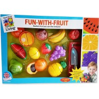 Fun with Fruit 13 pc Toy Food Set