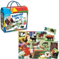 Floor Puzzle - Barn Life 24 pc - Small World Toys