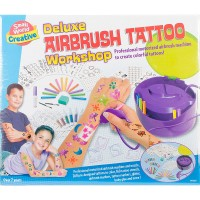 Deluxe Airbrush Tattoo Workshop Craft Kit