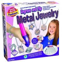 Engrave & Flip Girls Metal Jewelry Craft Kit