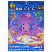 Math Basics 64 Pages Grade 1 Workbook