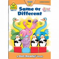Same or Different 64 Pages Preschool Workbook