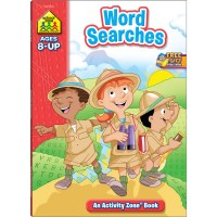 Word Searches 64 Pages Workbook