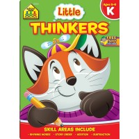 Little Thinkers Kindergarten 64 Pages Workbook