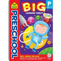 Preschool Big Learning Tablet 240 Pages Activity Pad