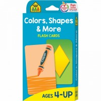 Colors, Shapes & More Thinking Skills Flash Cards
