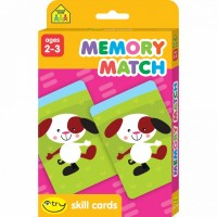 Memory Match Toddler I Try Skill Flash Cards