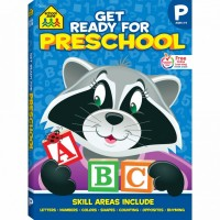 Get Ready for Preschool 256 Pages Activity Workbook