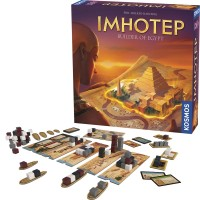 Imhotep Builder of Egypt Strategy Board Game