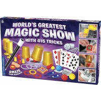 World's Greatest Magic Show 415 Tricks Magic Kit