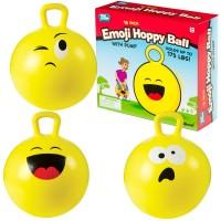 Emoji Hoppy Ball 18 Inches Hopping Ball with Pump