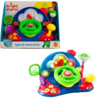 Bright Starts Baby Lights & Colors Driver Steering Wheel Dashboard