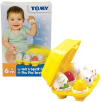 Tomy Hide n Squeak Eggs Sorting Toy
