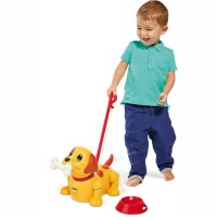 Push & Pull Puppy Toddler Play Set