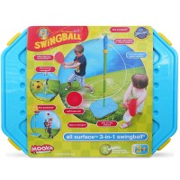 All Surface 3-in-1 Swingball, Basketball, Soccer Outdoor Games Set