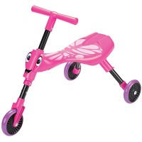 Scuttle Bug Toddler Folding Tricycle - Pink