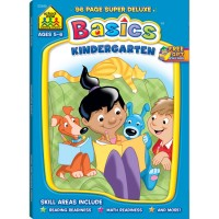 Kindergarten Basics Activity Deluxe Workbook - 96 Pages