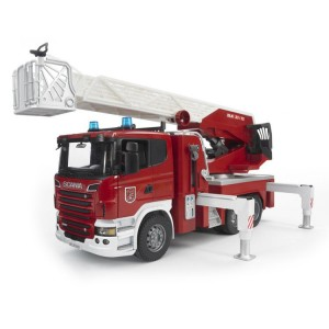 Bruder Deluxe Toy Fire Truck - Scania R-Series